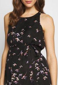 Spring Maternity - CARMENE SLEEVELESS PRINTED DRESS - Day dress - black - 5