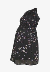 Spring Maternity - CARMENE SLEEVELESS PRINTED DRESS - Day dress - black - 4