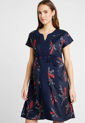 DOROTHY DRESS FLORAL - Denní šaty - navy