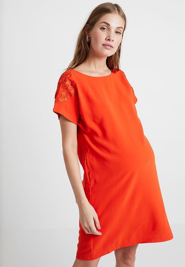 DOLLIE DRESS - Vapaa-ajan mekko - orange tangerine