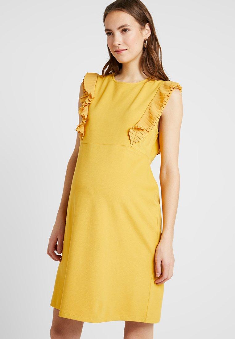 Spring Maternity - EVON DRESS - Jersey dress - marigold