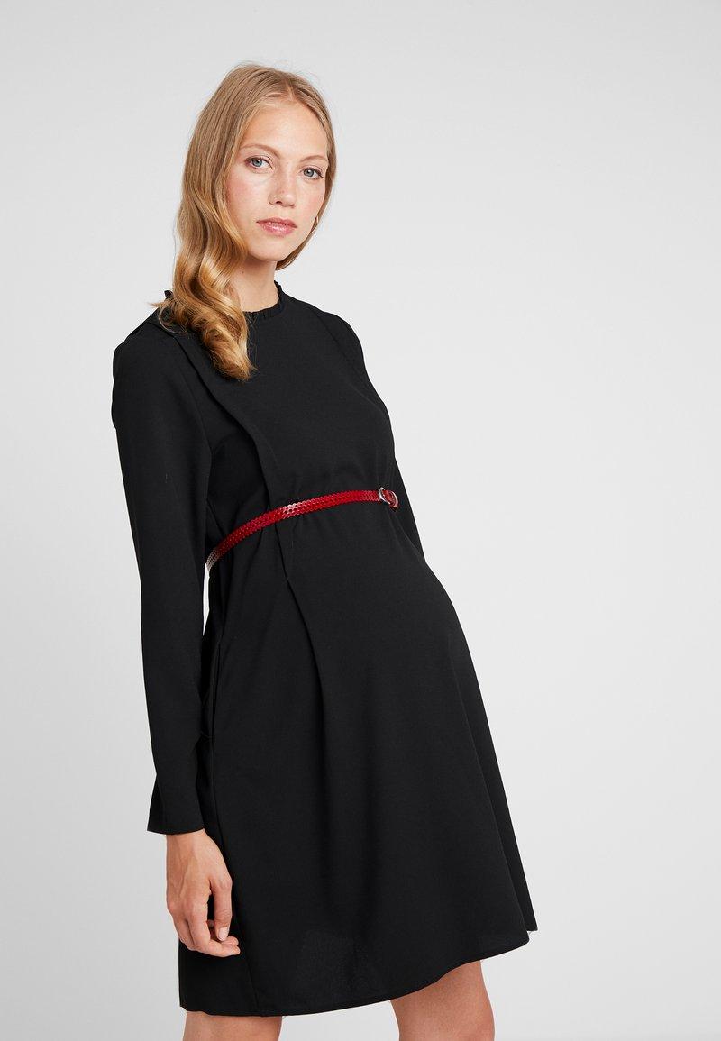 Spring Maternity - CORINNA DRESS - Sukienka z dżerseju - black