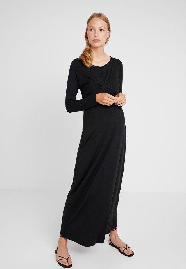 DANYA DRESS - Maxi šaty - black