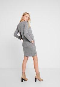Spring Maternity - COLINE DRESS - Jerseyklänning - grey - 2