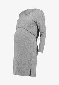 Spring Maternity - COLINE DRESS - Jerseyklänning - grey - 5