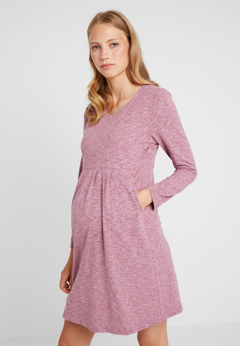 Spring Maternity - BENTE DRESS - Vestido ligero - maroon