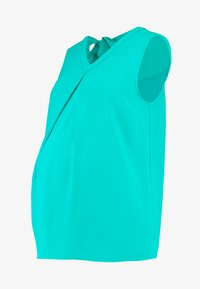 Spring Maternity - CHRISTIANA BACK BOW TOP - Blouse - green - 4