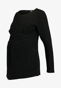 Spring Maternity - DARBY TEE - Topper langermet - black - 3
