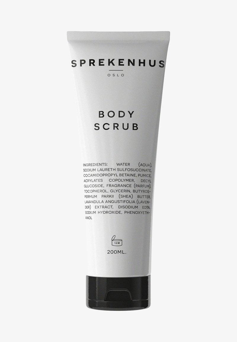 Sprekenhus - BODY SCRUB 200ML - Body scrub - neutral