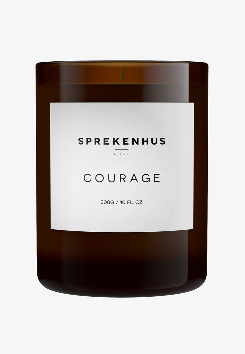 Sprekenhus - CANDLE 300G - Geurkaars - courage