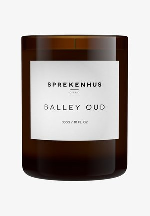 CANDLE 300G - Duftlys - balley oud