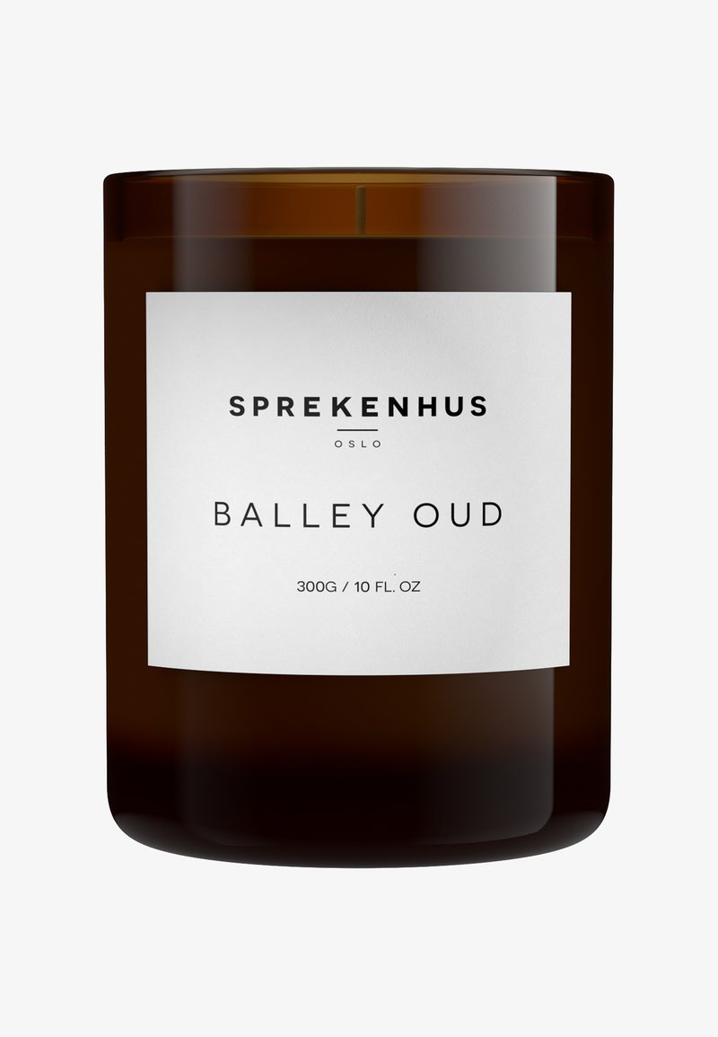 Sprekenhus - CANDLE 300G - Scented candle - balley oud
