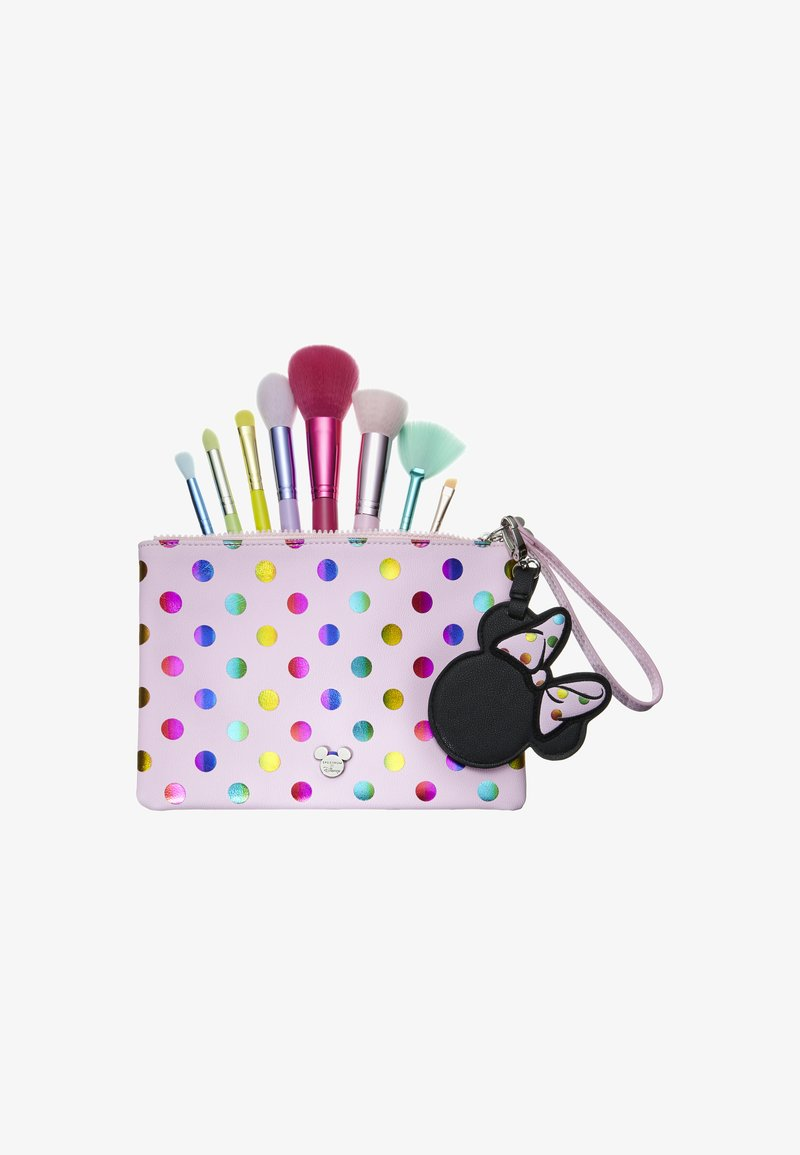 Spectrum - MINNIE MOUSE POLKA DOT POUCH BAG AND BRUSH SET - Pinsel-Set - -