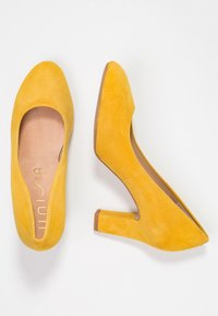 Unisa Wide Fit - UMIS - Pumps - yellow - 3