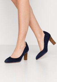 Unisa Wide Fit - ULISA WIDE FIT - Pumps - ocean - 0