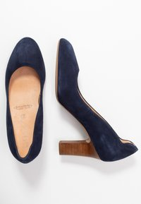 Unisa Wide Fit - ULISA WIDE FIT - Classic heels - ocean - 3