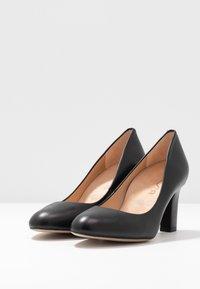 Unisa Wide Fit - UMIS WIDE FIT  - Classic heels - black - 4