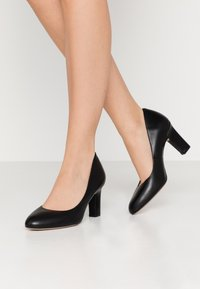 Unisa Wide Fit - UMIS WIDE FIT  - Classic heels - black - 0
