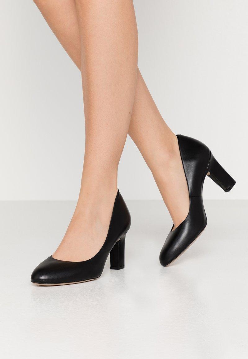 Unisa Wide Fit - UMIS WIDE FIT  - Classic heels - black