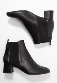Unisa Wide Fit - LAYER - Ankle Boot - black - 3