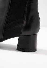 Unisa Wide Fit - LAYER - Ankle Boot - black - 2
