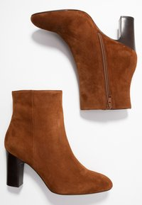 Unisa Wide Fit - Stiefelette - toast - 3