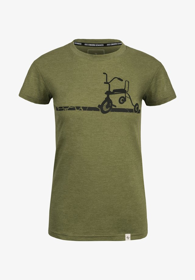 ELSE - Print T-shirt - green