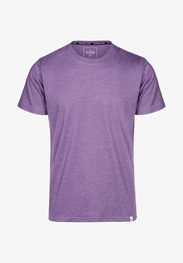 ARTHUR - Basic T-shirt - purple