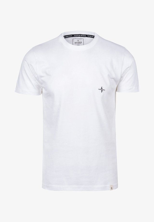 HENRI - Basic T-shirt - white