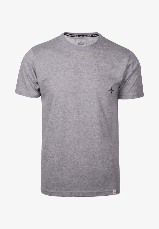 HUBERT - Basic T-shirt - grey