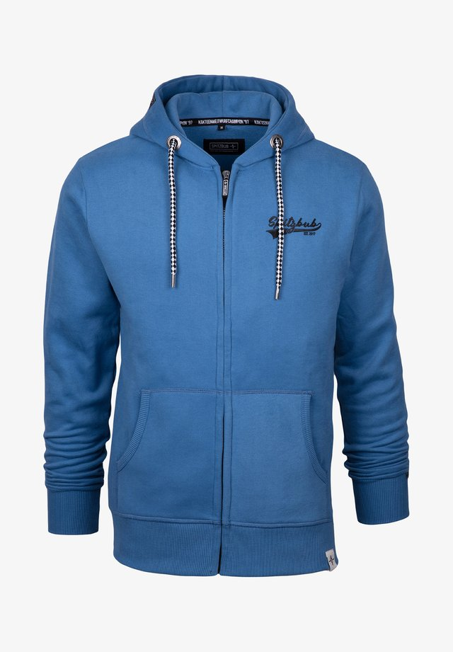 KLAUS - Zip-up hoodie - blue
