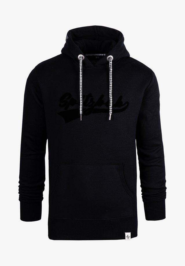 Hoodie - black