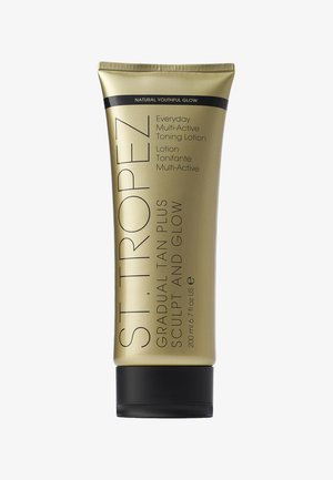 GRADUAL TAN SCULPT & GLOW LOTION 200ML - Zelfbruiner - neutral