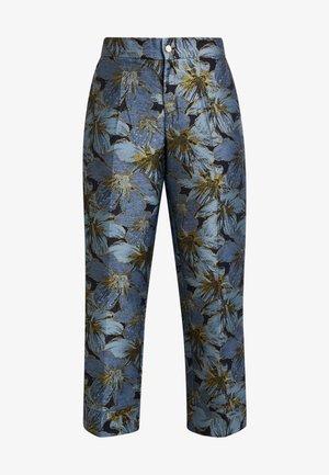 IVONE - Pantalon classique - autumn flowers