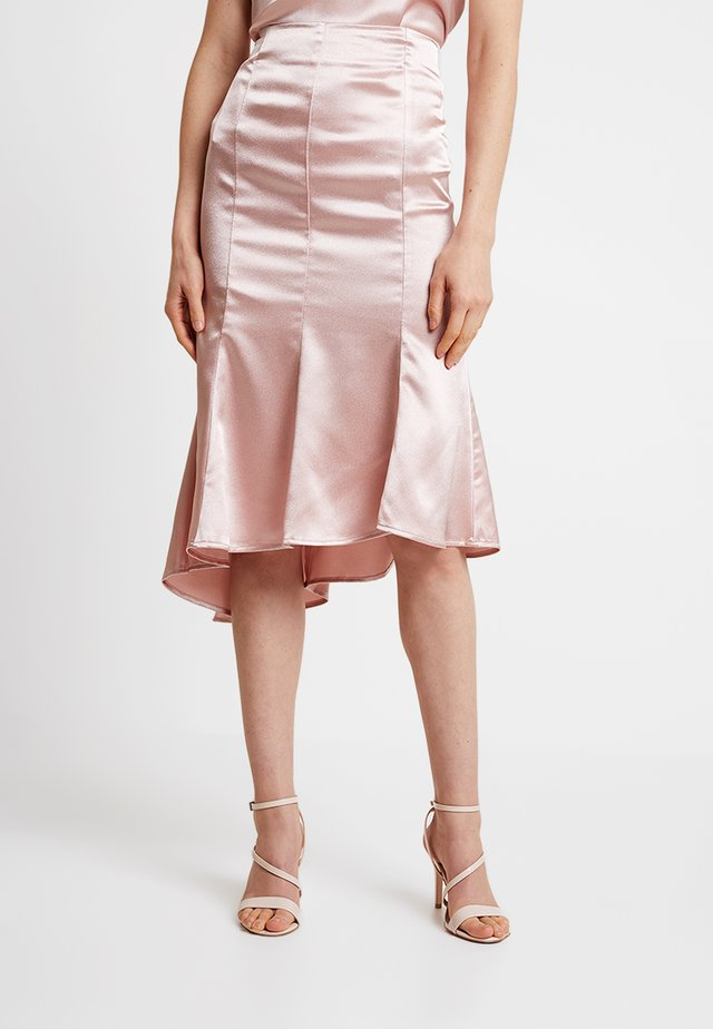 VALERIE - A-line skirt - shadow pink