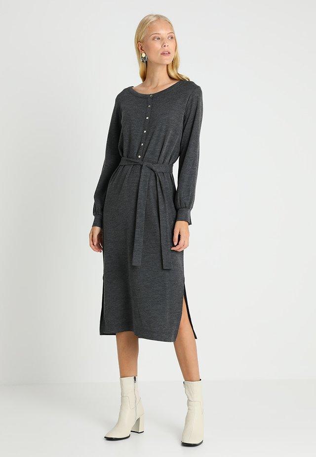 WIBO - Jerseykleid - dark grey melange