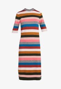 Six Ames - VICTORIA - Strikket kjole - rainbow stripes - 5