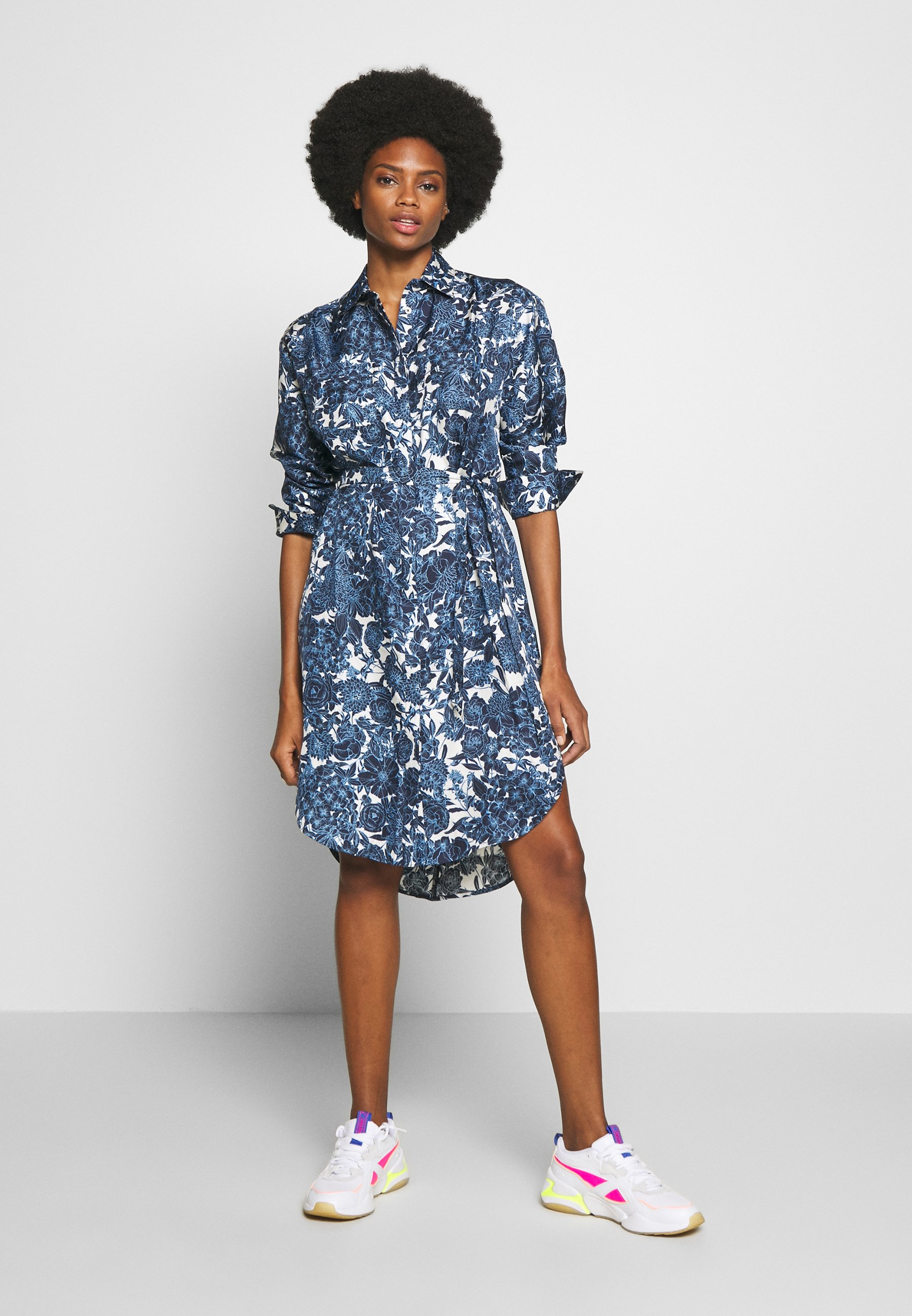 Six Ames Felicia - Shirt Dress Blue