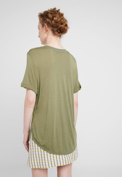 tani Six Ames EDEN - T-shirt z nadrukiem - mermaid Koszulki i Topy XICN-ZL2