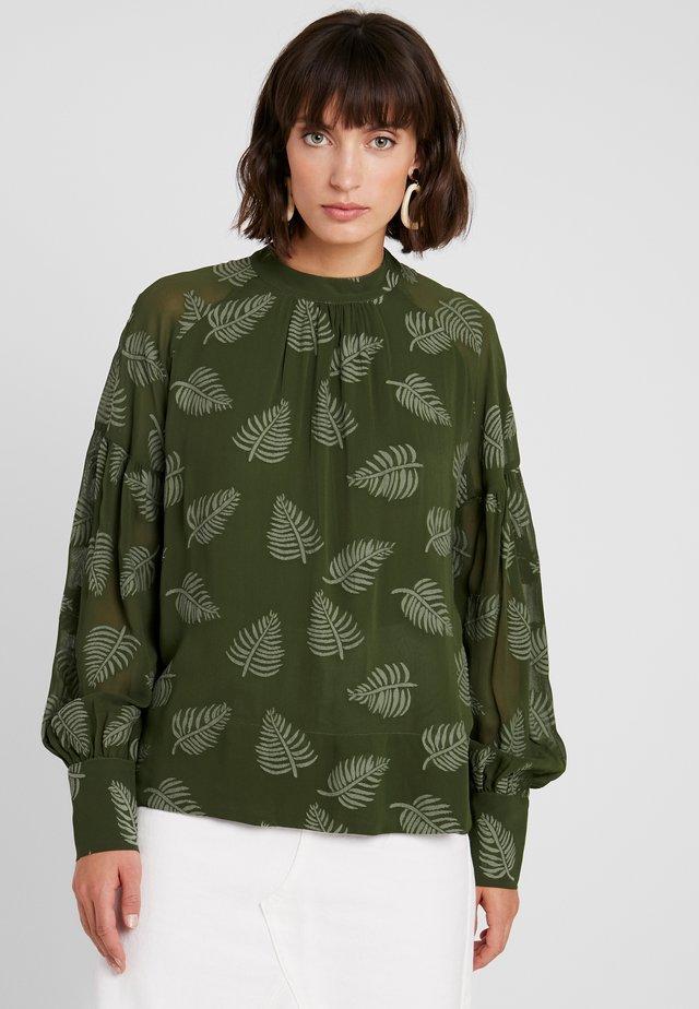 ULYSSA - Bluse - fuffle green
