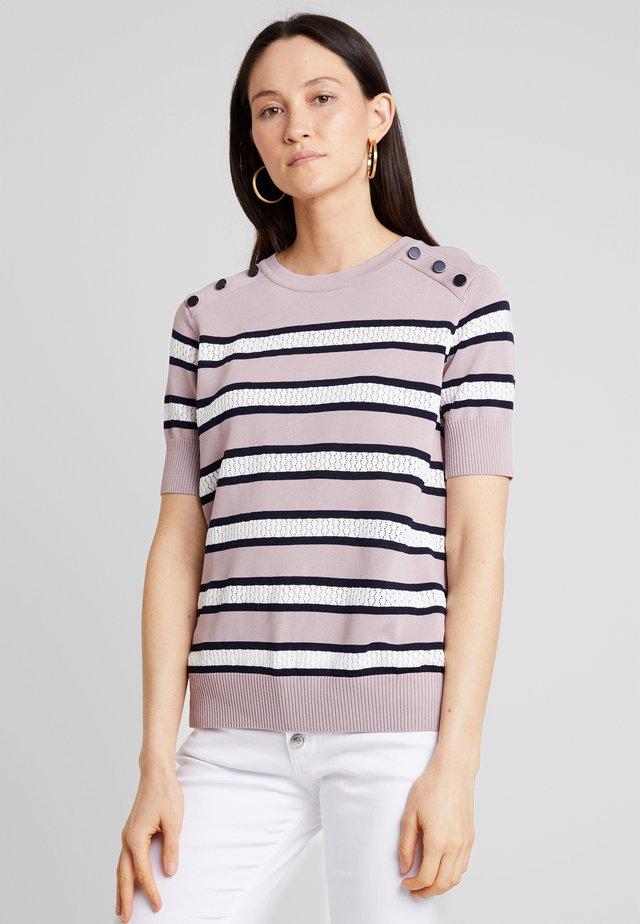 GABRIELLE - T-shirt print - dusty