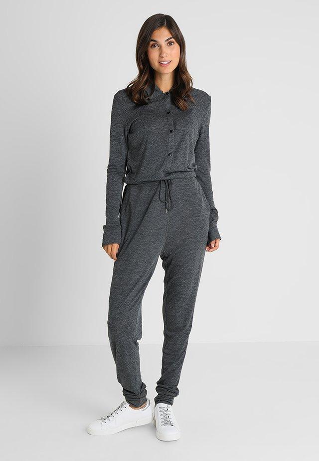 WEN - Jumpsuit - dark grey melange