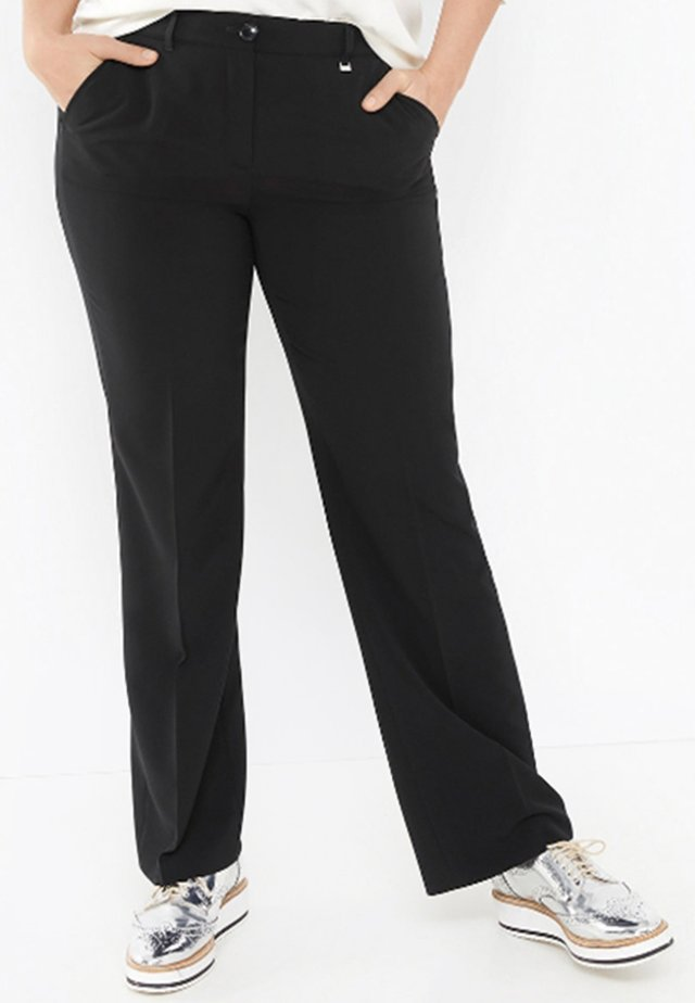 GRETA - Pantalon classique - black