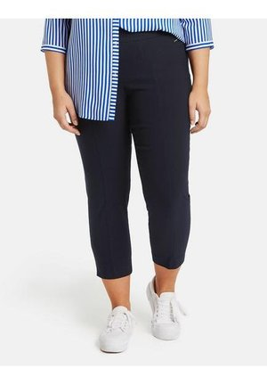 LUCY - Trousers - marine