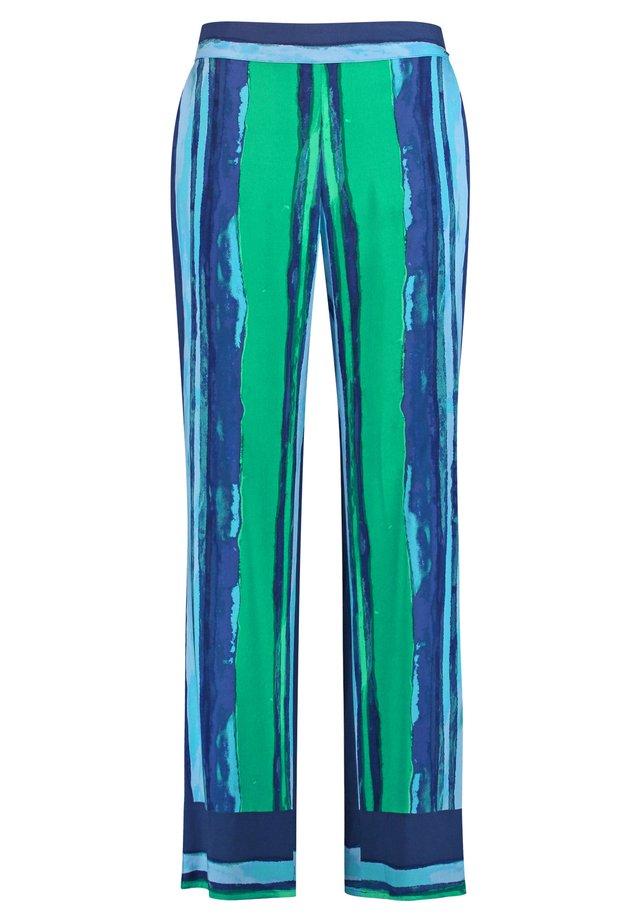 MIT STREIFEN-DESSIN - Broek - space blue gemustert