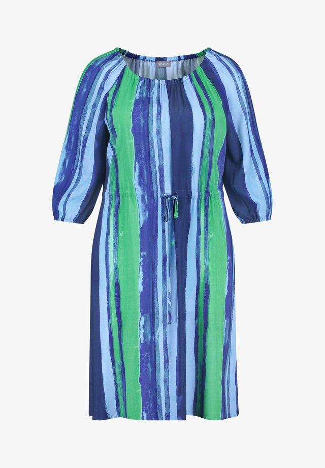Korte jurk - space blue