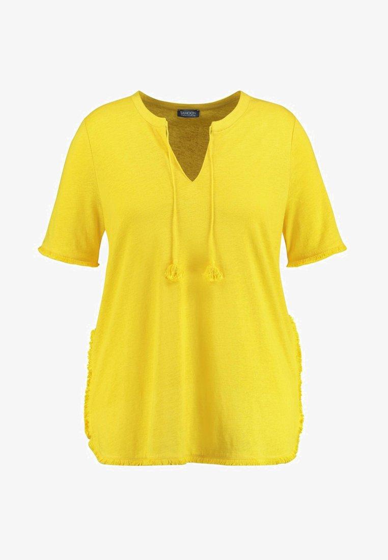 Samoon - T-Shirt print - yellow