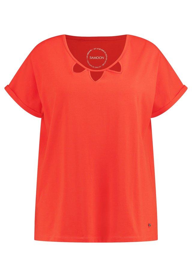 SHORT SLEEVE - T-shirt imprimé - aperol