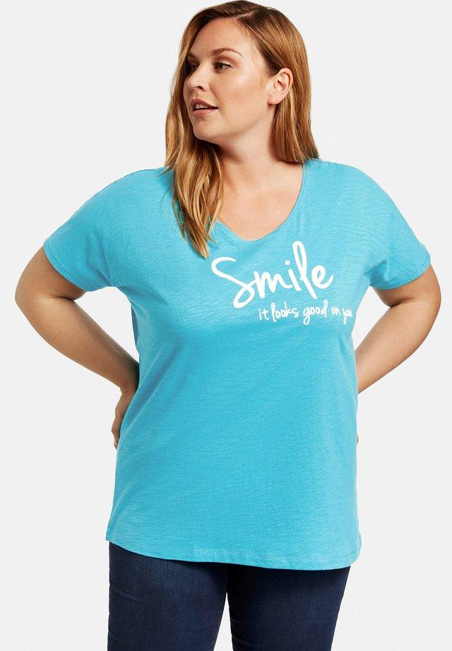 T-shirt imprimé - aqua