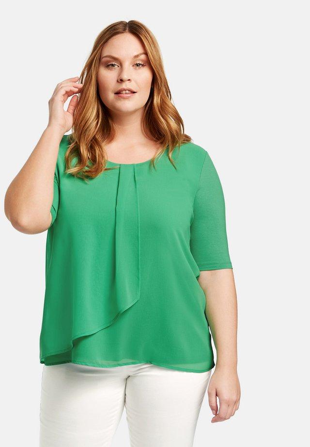 Blouse - jade green